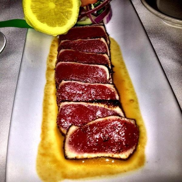 seared ahi tuna outback steakhouse view online menu and dish photos at zmenu zmenu