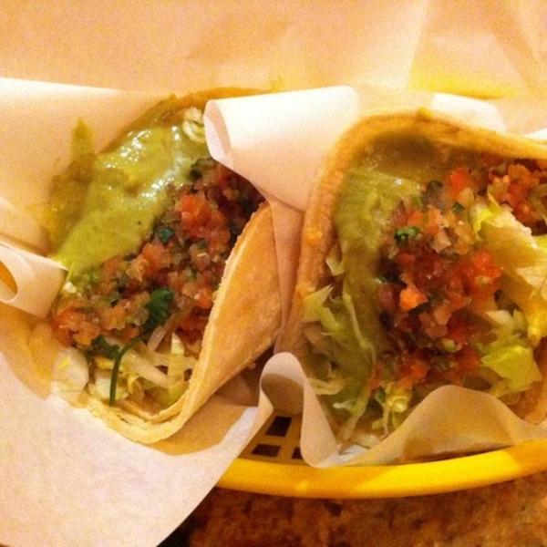 Veggie Tacos La Victoria Taqueria View Online Menu And Dish Photos At Zmenu