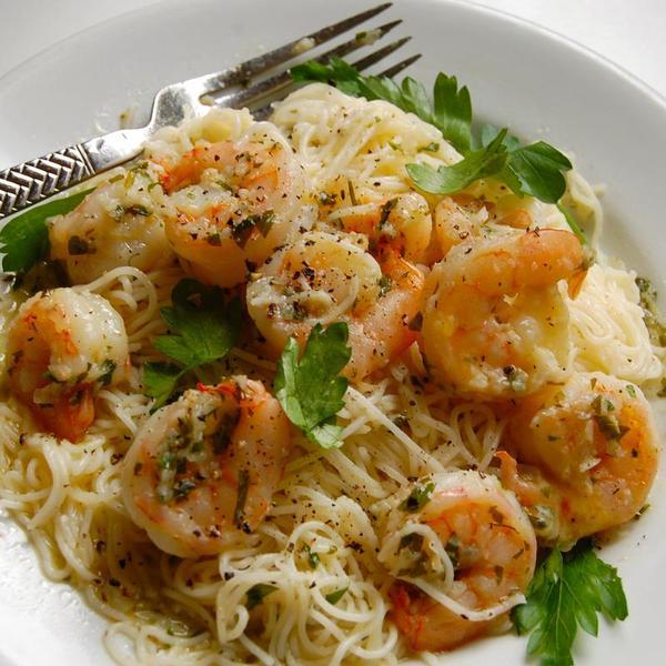 Shrimp Scampi Capellini - Morton's The Steakhouse - Zmenu