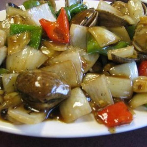 Clams With Black Bean Sauce 豉汁炒蜆 Back To Good Neighbor Seafood Restaurant Newark Ca