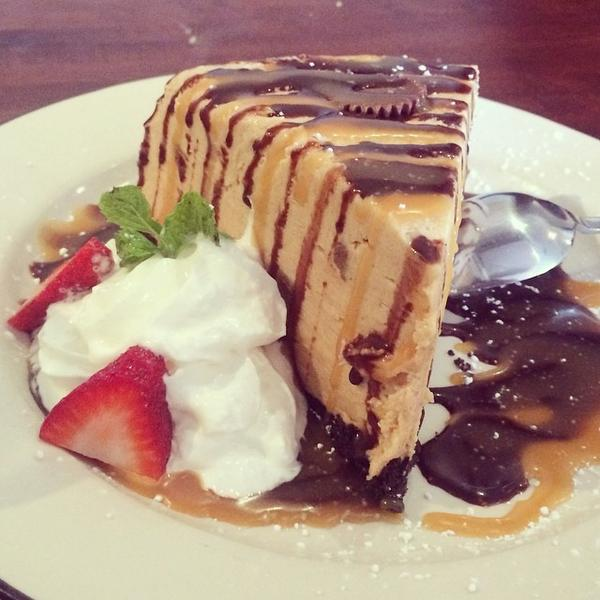 Peanut Butter Mousse Pie - Moonshine Patio Bar & Grill, View Online ...