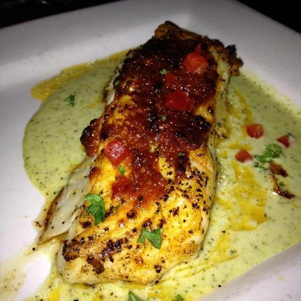 chilean sea bass kenny s wood fired grill view online menu and