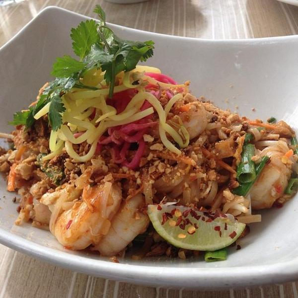 Shrimp Pad Thai Malai Kitchen View Online Menu And Dish