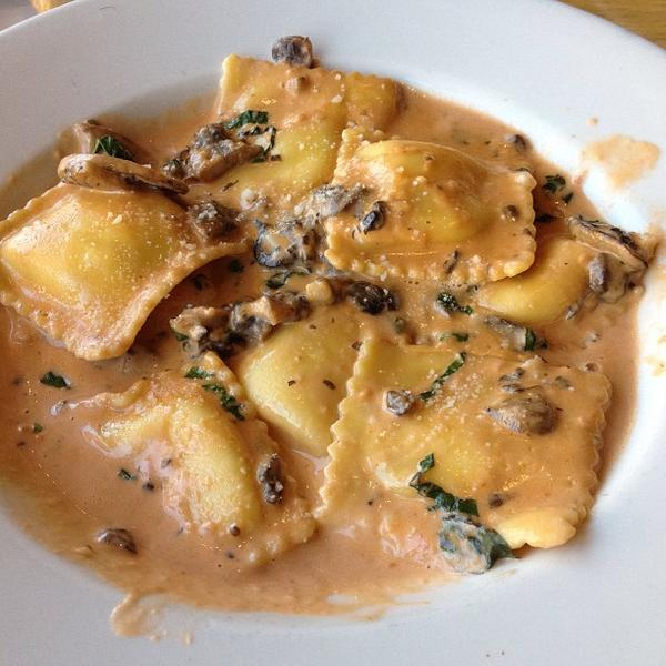 Marvelous Four Cheese Ravioli. « Back To California Pizza Kitchen, Burbank ...