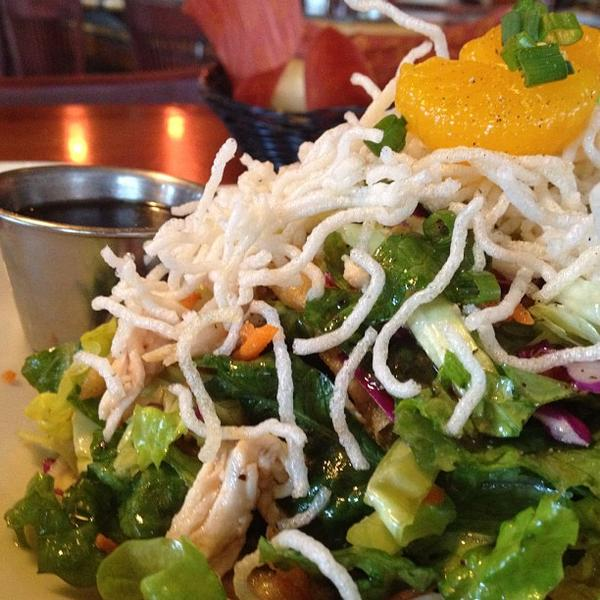 Asian Chicken Salad. « - Asian Chicken Salad - Wood Ranch BBQ & Grill, View Online Menu And