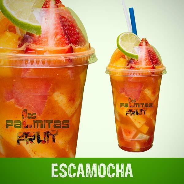 Escamocha en baso - Las Palmitas Fruit, View Online Menu ...