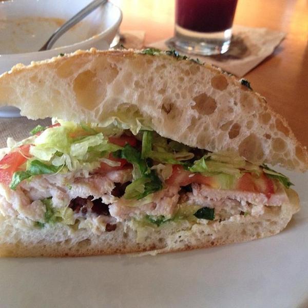 California Pizza Kitchen California Club Sandwich