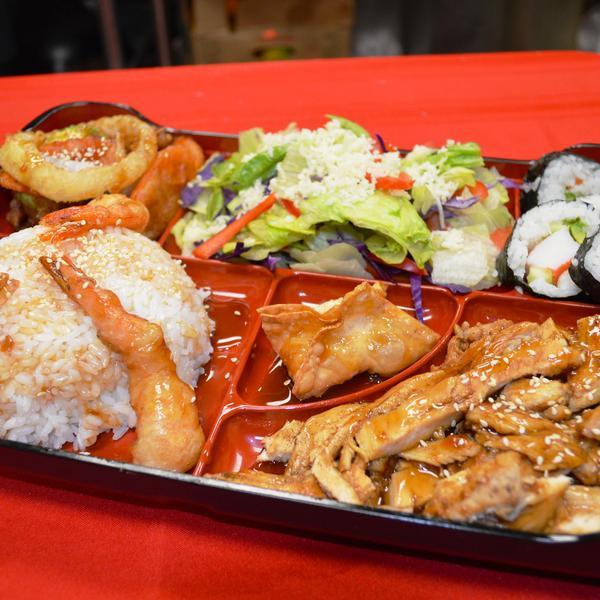 BENTO BOX - El Sushi Loco, View Online Menu and Dish Photos at Zmenu
