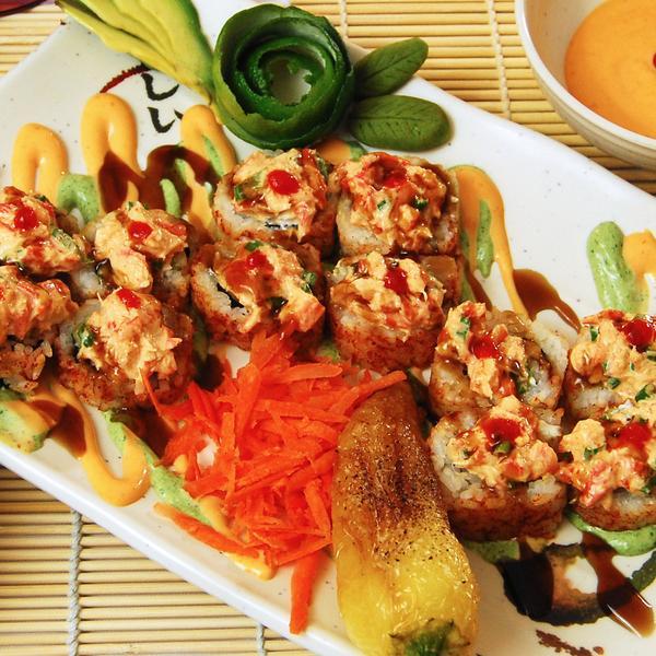 BOLY ROLL (HOT) - El Sushi Loco, View Online Menu and Dish Photos ...