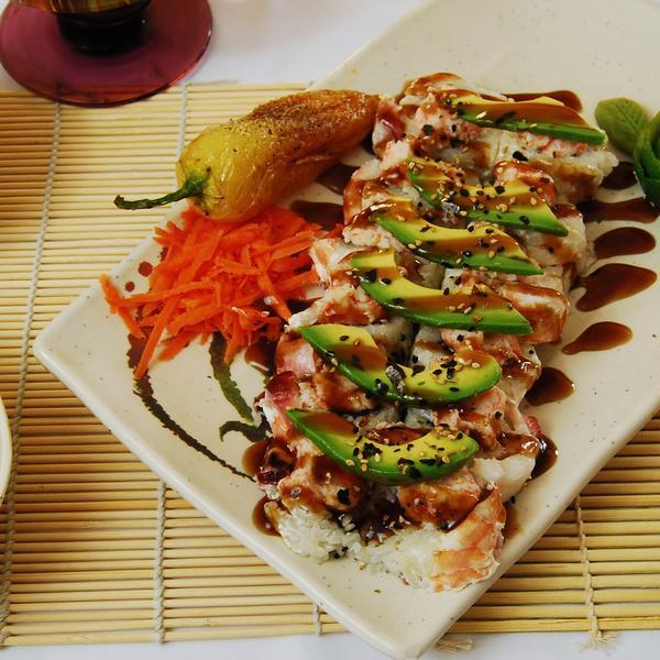 GUAMUCHILITO ROLL - El Sushi Loco, View Online Menu and Dish ...