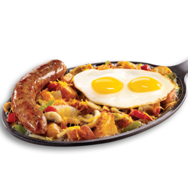 New Hearty Breakfast Skillet Denny S Restaurant View