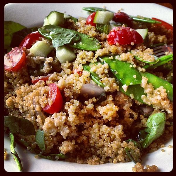 Spinach And Quinoa. «