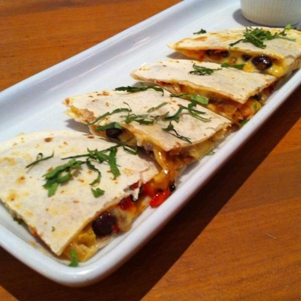 Spicy Chicken Tinga Quesadilla - California Pizza Kitchen, View ...