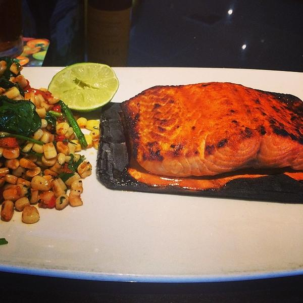Cedar Plank Salmon California Pizza Kitchen View Online Menu and