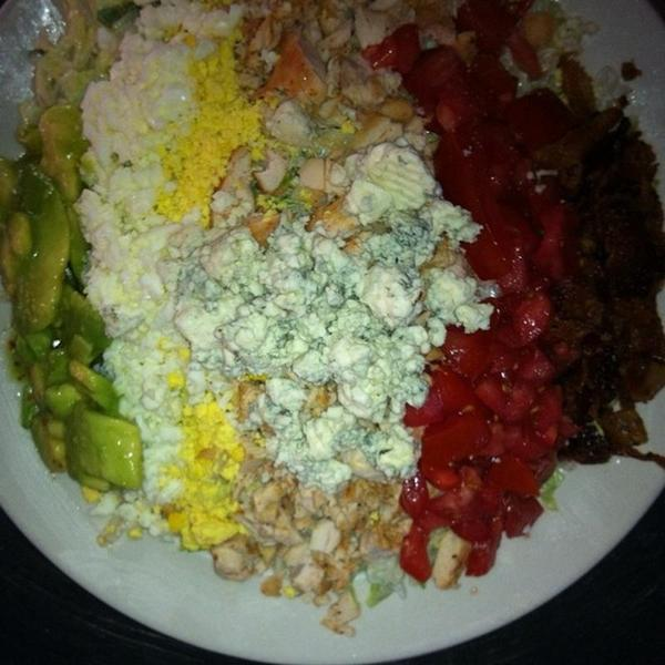 Cobb Salad Back To Pink Restaurant South Beach Miami