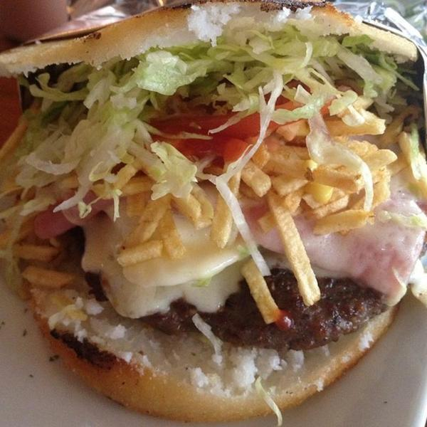 Crazy Moon Arepa Burger La Moon Restaurant View Online