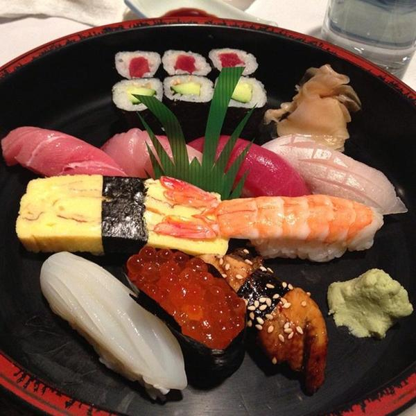 Sushi Deluxe Combination Sushi Gen View Online Menu And Dish