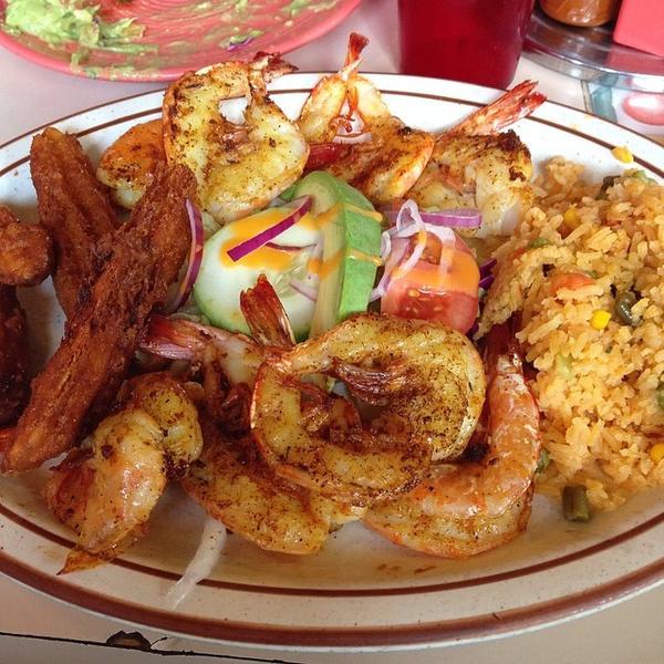 Camarones a la plancha cocula restaurant view online for Cuisine 0 la plancha