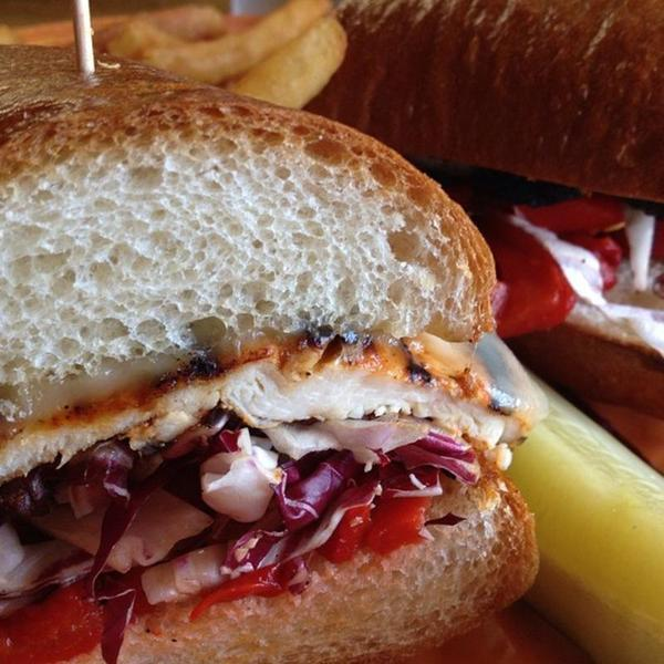 Voodoo Chicken Sandwich Tied House Cafe Brewery View Online