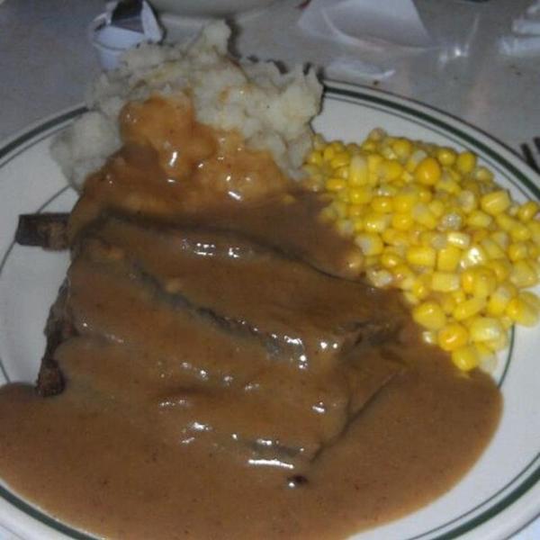 Back To Original Pantry Cafe, Los Angeles, CA. Roast Beef