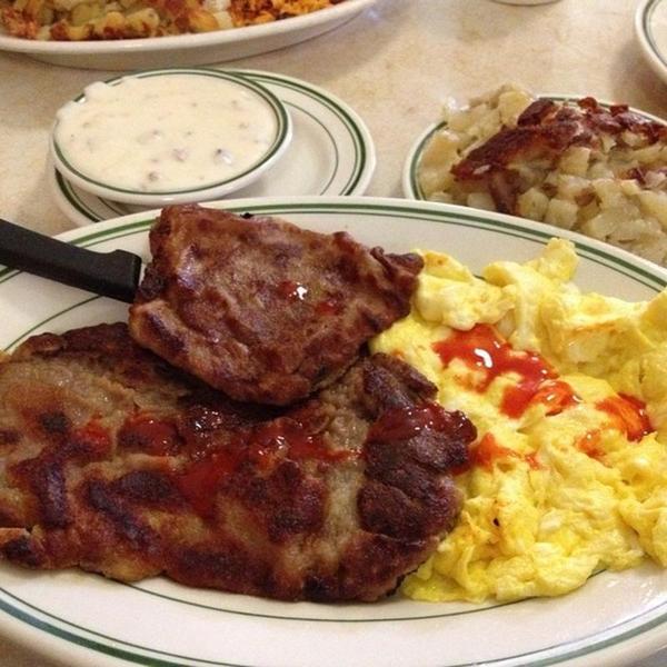 Country Fried Steak U0026 Eggs. « Back To Original Pantry Cafe, Los Angeles, CA