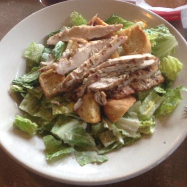 Chicken Caesar Salad Dengeos Restaurant View Online Menu And Dish