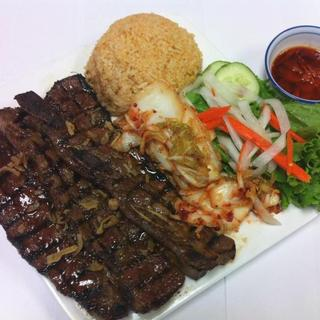 grilled-korean-style-rib-over-steamed-rice