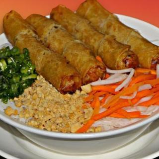 shrimp-&-pork-or-vegetarian-egg-roll-over-vermicelli