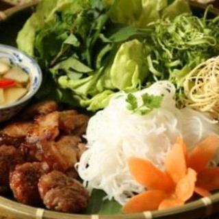 ha-noi-style-vermicelli-(grilled-shremps,-pork-&-meatballs)