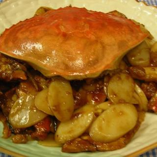 rice-cake-w/whole-crab-in-brown-sauce