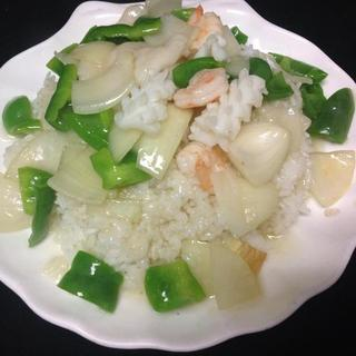 seafood-combination-over-rice