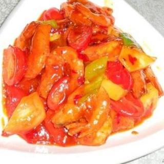 prawns-with-sweet-&-sour-sauce