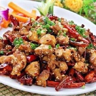 deep-fried-chicken-w/garlic-spicy-sauce