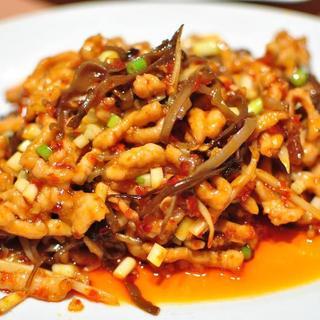 shredded-pork/chicken-with-garlic-sauce