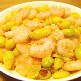 sautéed-prawns-w/-ginkgo-and-yam