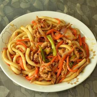 sliced-pork-in-spicy-garlic-sauce-w/-noodle-soup