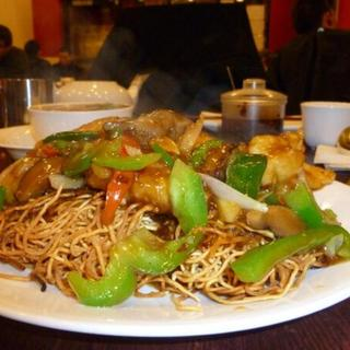 fillet-with-green-pepper-noodle