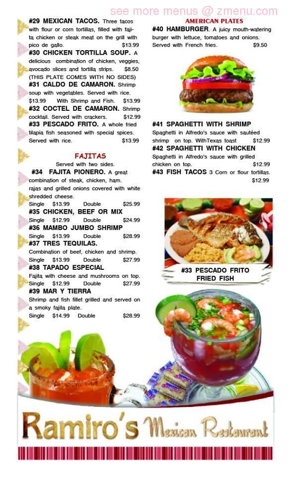 Ramiros Mexican Restaurant