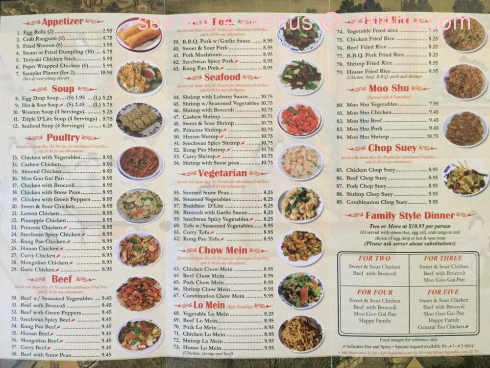 Online Menu Of Chuong Garden Restaurant Fort Madison Iowa 52627 Zmenu