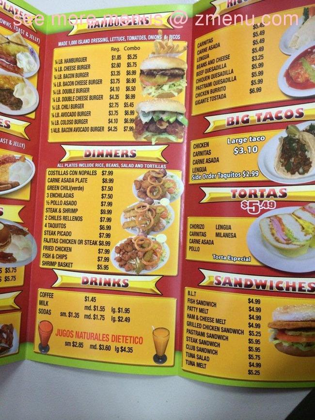 Online Menu Of Mr Pepe S Burgers Restaurant Pico Rivera