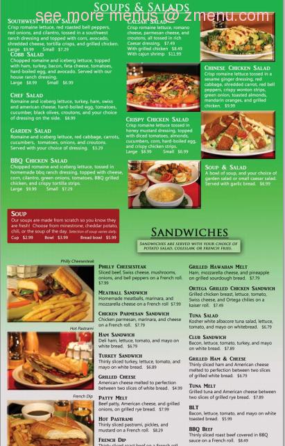 Online Menu of Lucky Roxy\'s Cafe Restaurant, Palmdale, California ...
