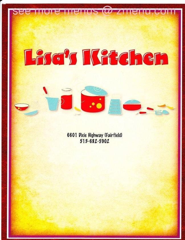 Lisa S Kitchen Fairfield Oh Menu