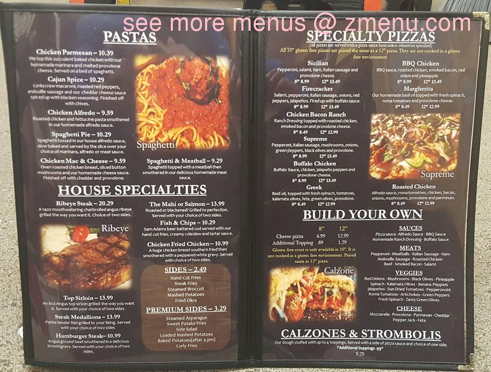 Online Menu Of Deer Creek Fire Stone Restaurant Cabot
