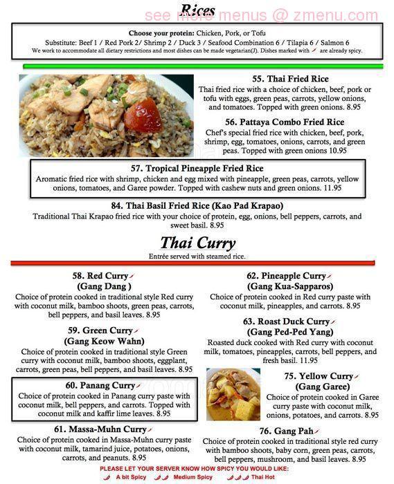 Pattaya Thai Restaurant Springdale Ar