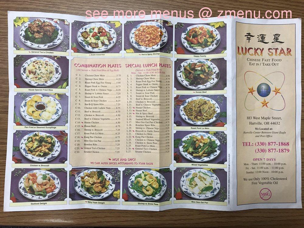 Lujo Menú De Cocina Hartville Inspiración - Ideas de Decoración de ...
