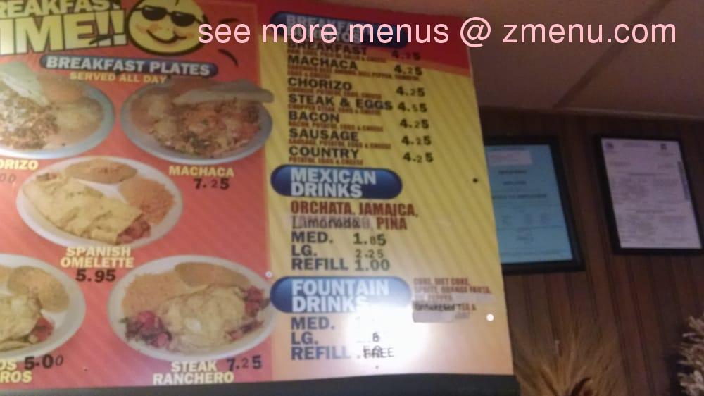 Online Menu Of El Rigobertos Restaurant Los Alamos New Mexico