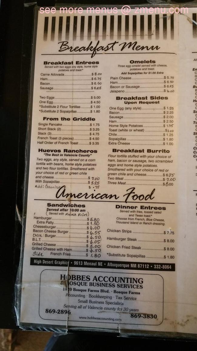 Online Menu Of A Js Restaurant