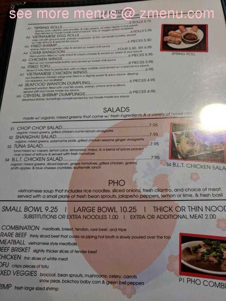 online menu of pacific rim cafe restaurant rapid city south dakota