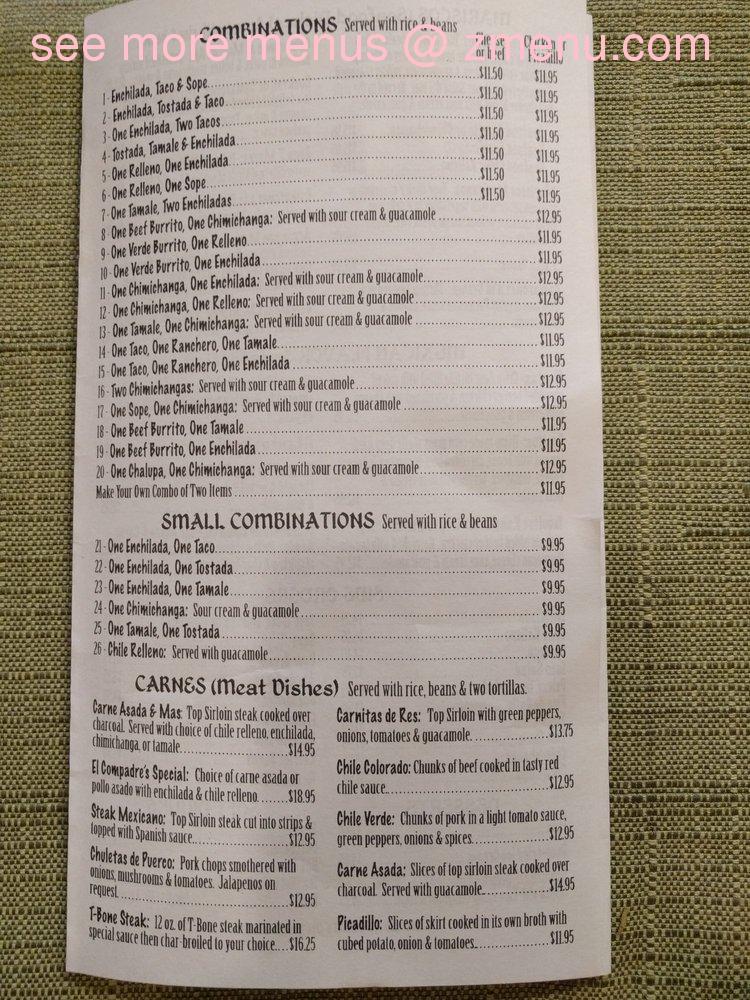 Mexican Food Castle Rock Wa