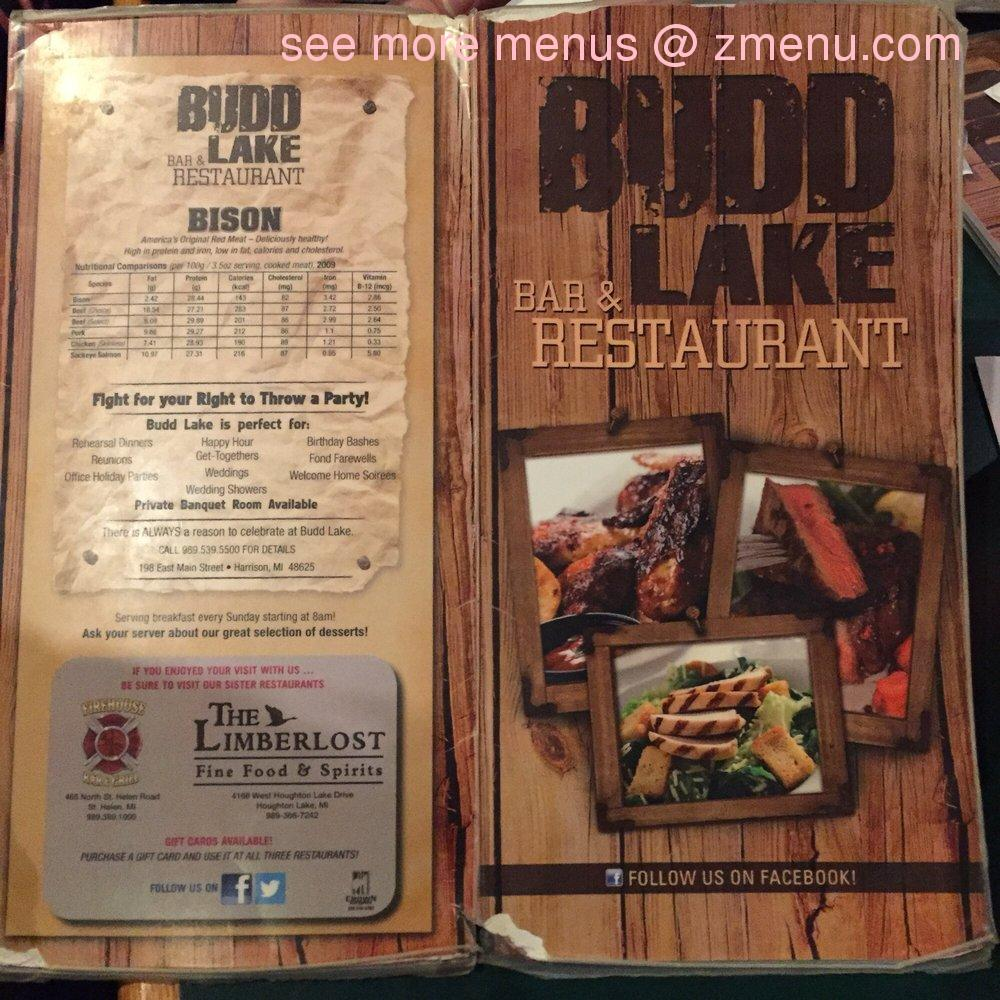 Online Menu of Budd Lake Bar & Restaurant Restaurant